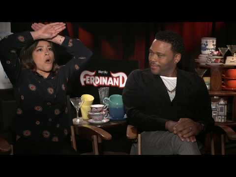 FERDINAND Interviews: Anthony Anderson and Gina Rodriguez
