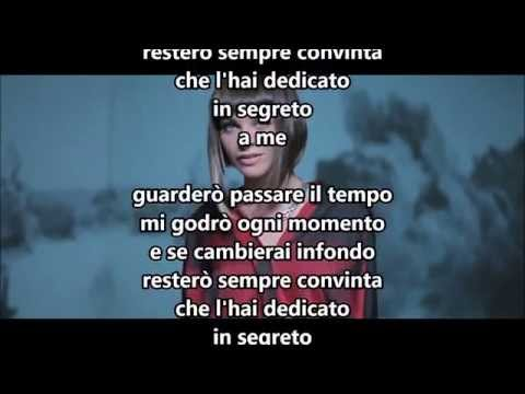 Alessandra Amoroso - L'hai dedicato a me (testo / lyric)