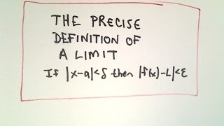 Precise Definition of a Limit - Understanding the Definition