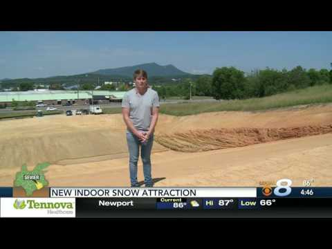 New Indoor Snow Attraction in Pigeon Forge TN, 2017