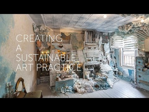 Creating a Sustainable Art Practice: Julie Schenkelberg and