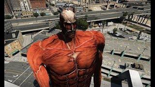 GTA 5 - Đại chiến Titan (Attack on Titan)   GHTG
