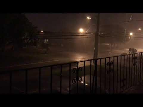 Hurricane Irma in Dania Beach, South Florida