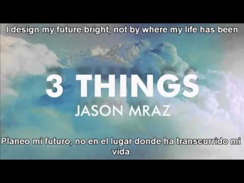 3 things Jason Mraz sub español ingles