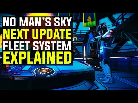 No Man's Sky NEXT - THE NEW FLEET FEATURE EXPLAINED | Everything You Need To Know!
