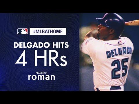 Rays vs. Blue Jays, 9/25/03 (Carlos Delgado goes deep FOUR times!) | #MLBAtHome