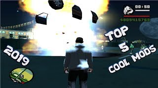 GTA San Andreas Top 5 Cool Mods of 2019 (NEW)