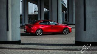 Mazda 3 sedan Skyactiv X test w Polsce PL Pertyn Ględzi