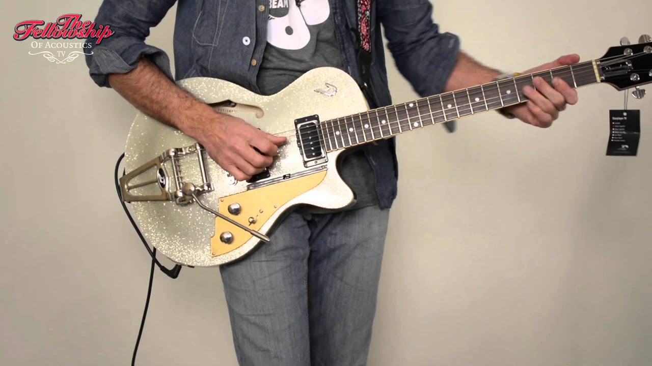 Duesenberg Starplayer Tv Silver Sparkle At The