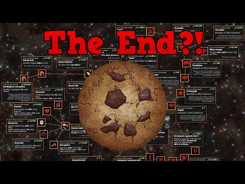 Reaching The End Of Cookie Clicker