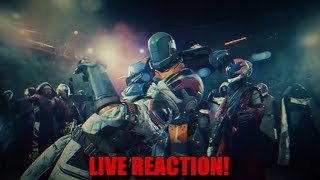 """Destiny 2 - Live Action Dance Trailer (LIVE REACTION) - """"THEY KILLED THAT SHIT!"""""""