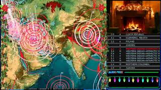 11/20/2017 -- Large earthquakes strike West Pacific -- West Coast Southern California on M5.0+ watch