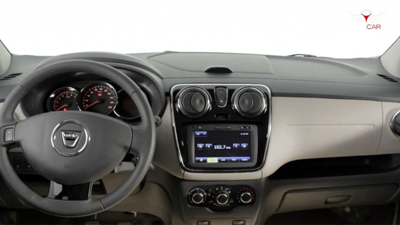 2013 Dacia Lodgy - INTERIOR - YouTube