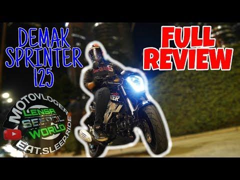 #326 DEMAK SPRINTER 125 FULL REVIEW || MOTOVLOGmalaysia