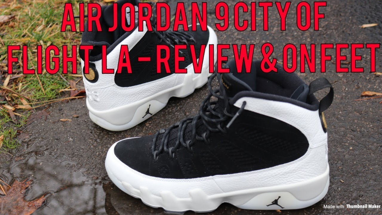 air jordan 9 city of flight review