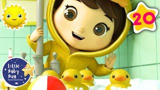 Count to 5 With 5 Little Ducks + Many More! | Baby Songs | Nursery Rhymes | Little Baby Morning