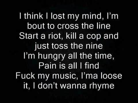 Diabolic - I Don't Want To Rhyme Lyrics