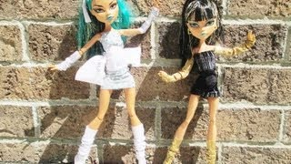 Monster High Socks, Leg & Arm Warmers Tutorial