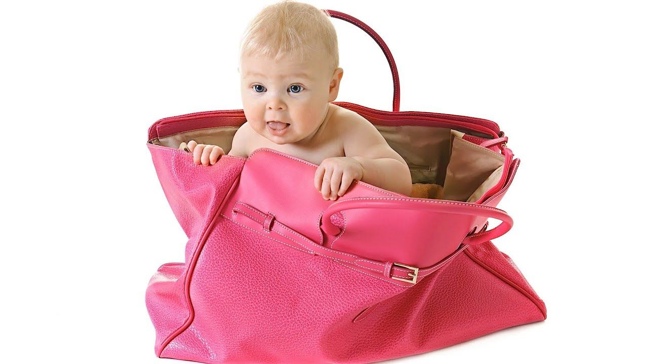 Bag-case for newborns with their own hands 1