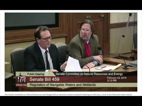 Bob Fassbender: Wisconsin Senate Committee on Natural Resources and Energy