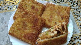 Chicken Cheese Box Patties | Ramzan Special Recipe | Ghare's kitchen
