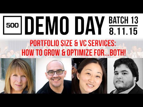 [500 STARTUPS VC Education 2015] Portfolio Size & VC Services: How To Grow & Optimize For...BOTH!