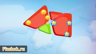 ► Jelly Slice обзор игры от Flashok.ru. Онлайн игра Резание желе