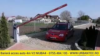 Barieră acces auto 4m V2 NIUBA4 - 0755.484.105