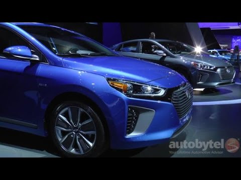 Hyundai Ionic – No Compromise Electrified Car @ 2016 New York Auto Show