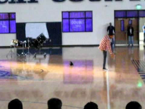 Paris High School Senior Pep Rally 2011.... Devin