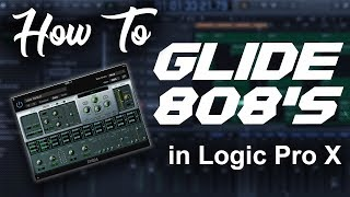 How to make 808 glides/slides in Logic Pro X   Beat Makers Tutorial (updated) mp3