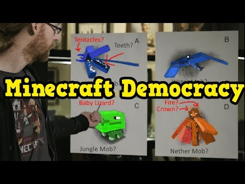 Minecraft Features Decided BY THE COMMUNITY (Democracy)