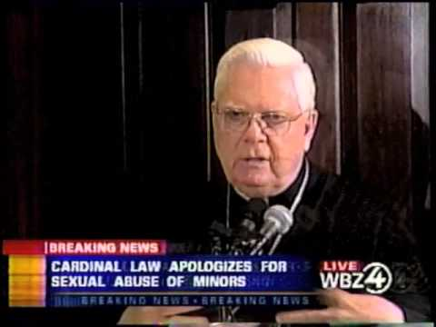 January 9, 2002 - Boston Cardinal Law Press Conference Response to Globe Spotlight Report