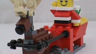 Holiday Sleigh Review! Set # 40010
