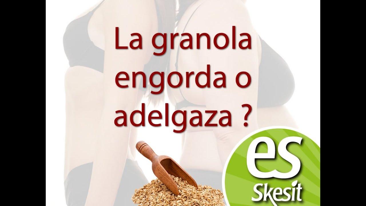 La granola engorda o adelgaza youtube - La pasta engorda o adelgaza ...