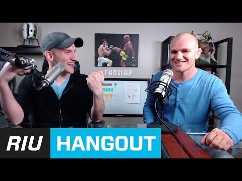 #runitup hangout with Martin Kampmann!