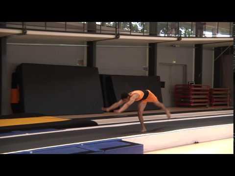 Kraftspring salto (lukket, hofte, strakt)