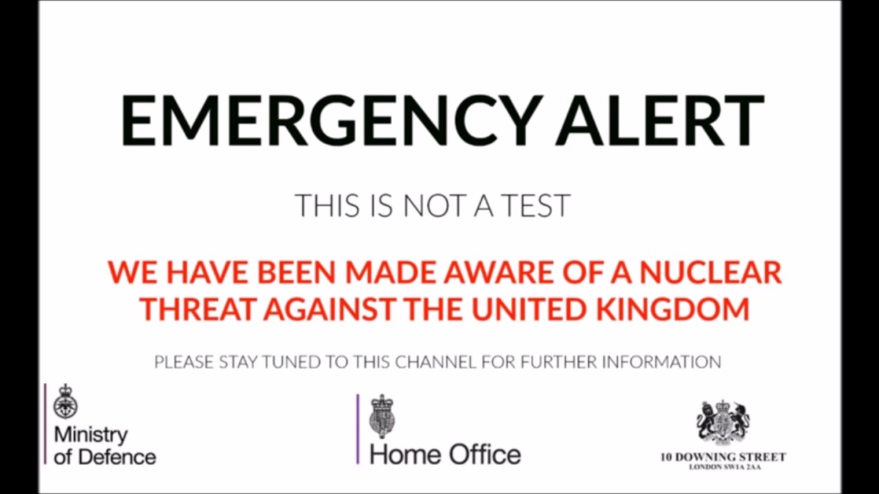 United Kingdom Emergency Broadcast (Nuclear 2) - YouTube