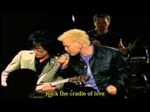 Billy Idol - Cradle Of Love [Storytellers NY 2001] Lyrics On Screen HD