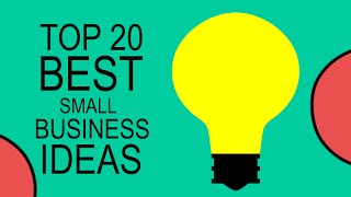 Top 20 Best Small Business Ideas for Beginners in 2020