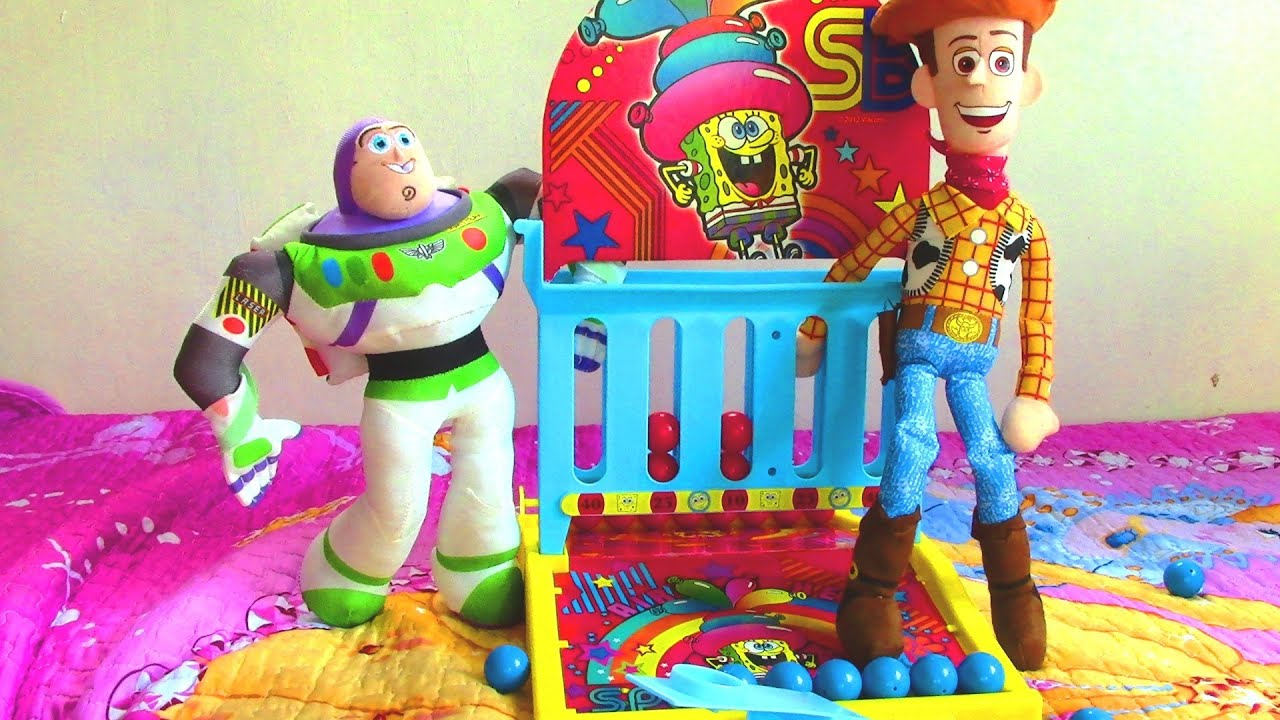 Toy Story Games Play Now : Toy story woody and buzz lightyear play spongebob