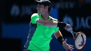 Andy Murray v Joao Sousa highlights (3R) - Australian Open 2015
