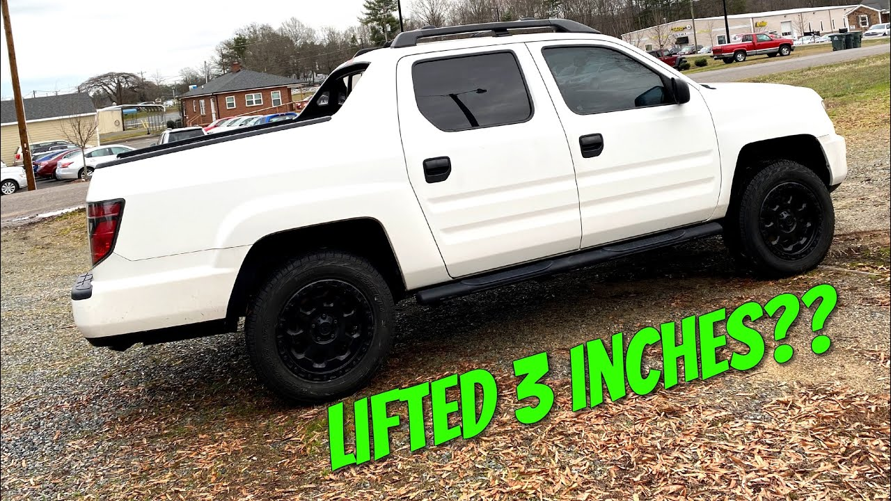 How To Lift A 2006 2014 Honda Ridgeline 3 Inches Step By Step
