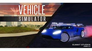 Roblox Vehicle Simulator New Update! Drone Shots!