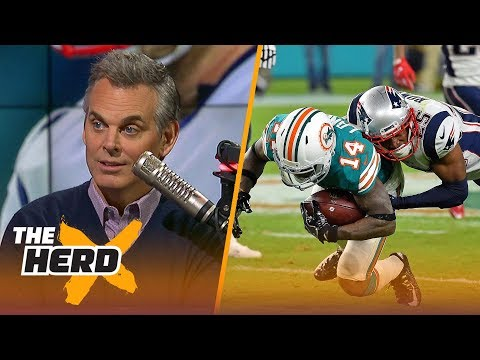 Colin Cowherd on the Dolphins beating the Patriots during Week 14 | THE HERD