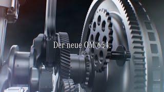 Sparsamer und stärker, leichter und kompakter - der neue OM 654