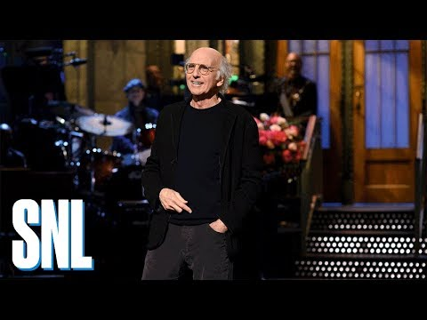 Larry David StandUp Monologue  SNL