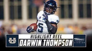Darwin Thompson Utah State Football Highlights - 2018  | Stadium