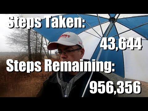 Walking 1 Million Steps in 1 Month Challenge Day 1