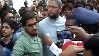 Fight between MIM and Congress |  MLA Pasha Quadri arrested - ExpressTV